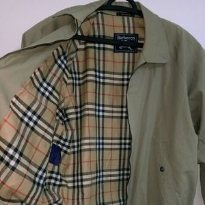 Authentic Vintage Burberry Bomber Jacket